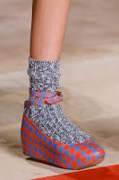 Ниски обувки на платформа на Marc Jacobs пролет 2013