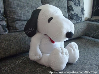 3.6 FEET GIANT SNOOPY DOG PUPPY W TIE BIG PLUSH 43""