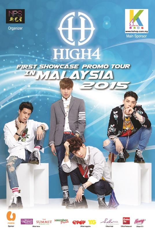 HIGH4, Malaysia, 2015