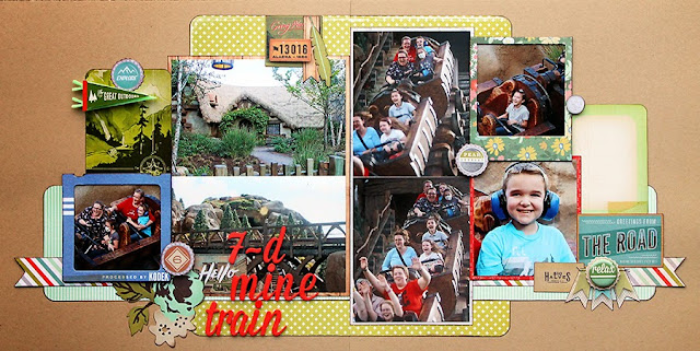 Mine Train_Kraft_Disney World_Kids_Scrapbook