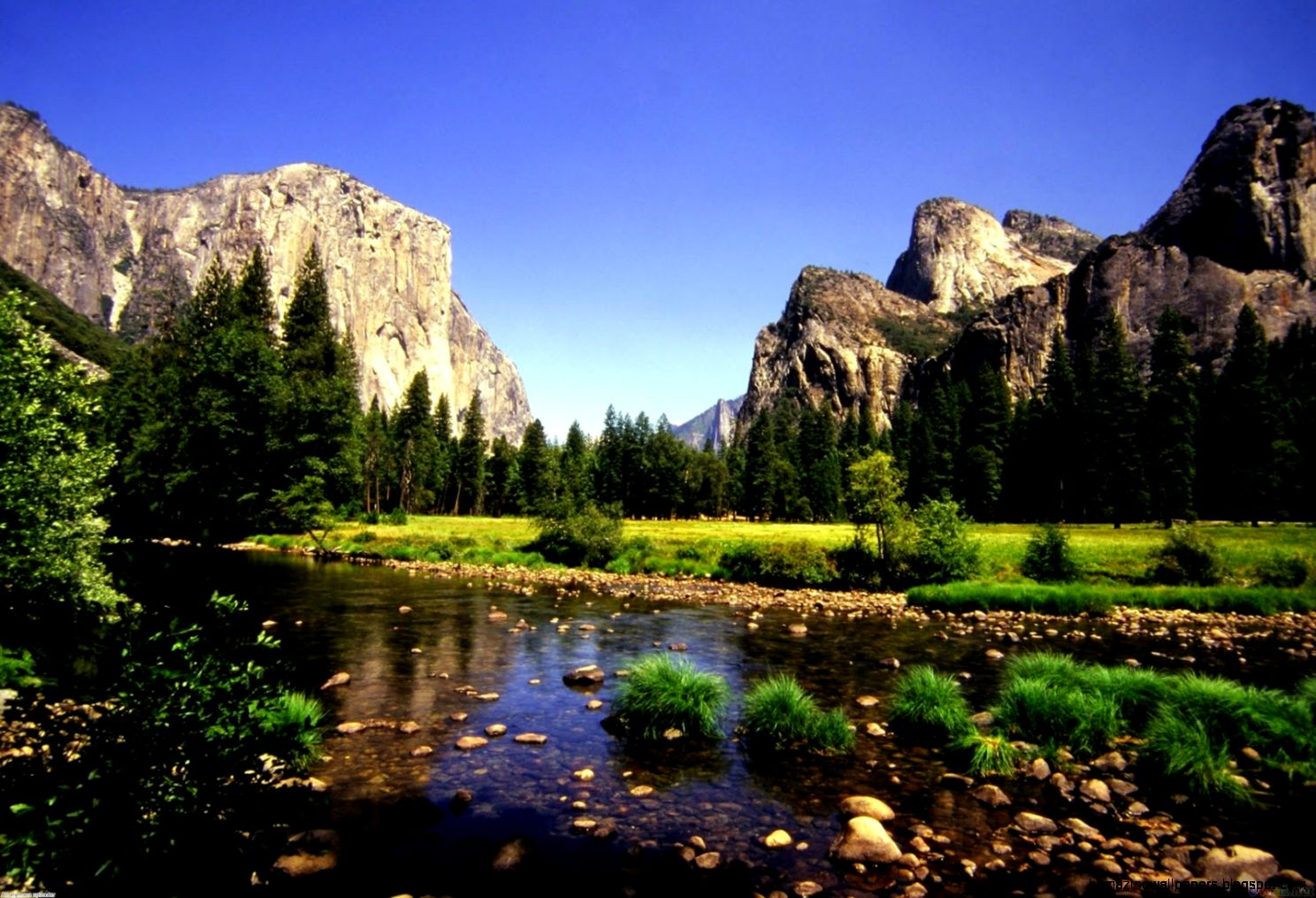 Mountain River Desktops