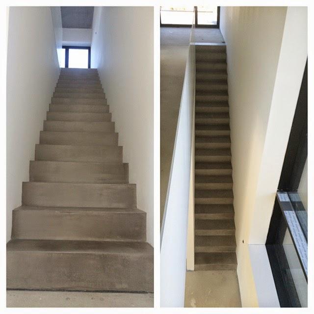Beton Cire Treppe beton cire oberflächen in beton look