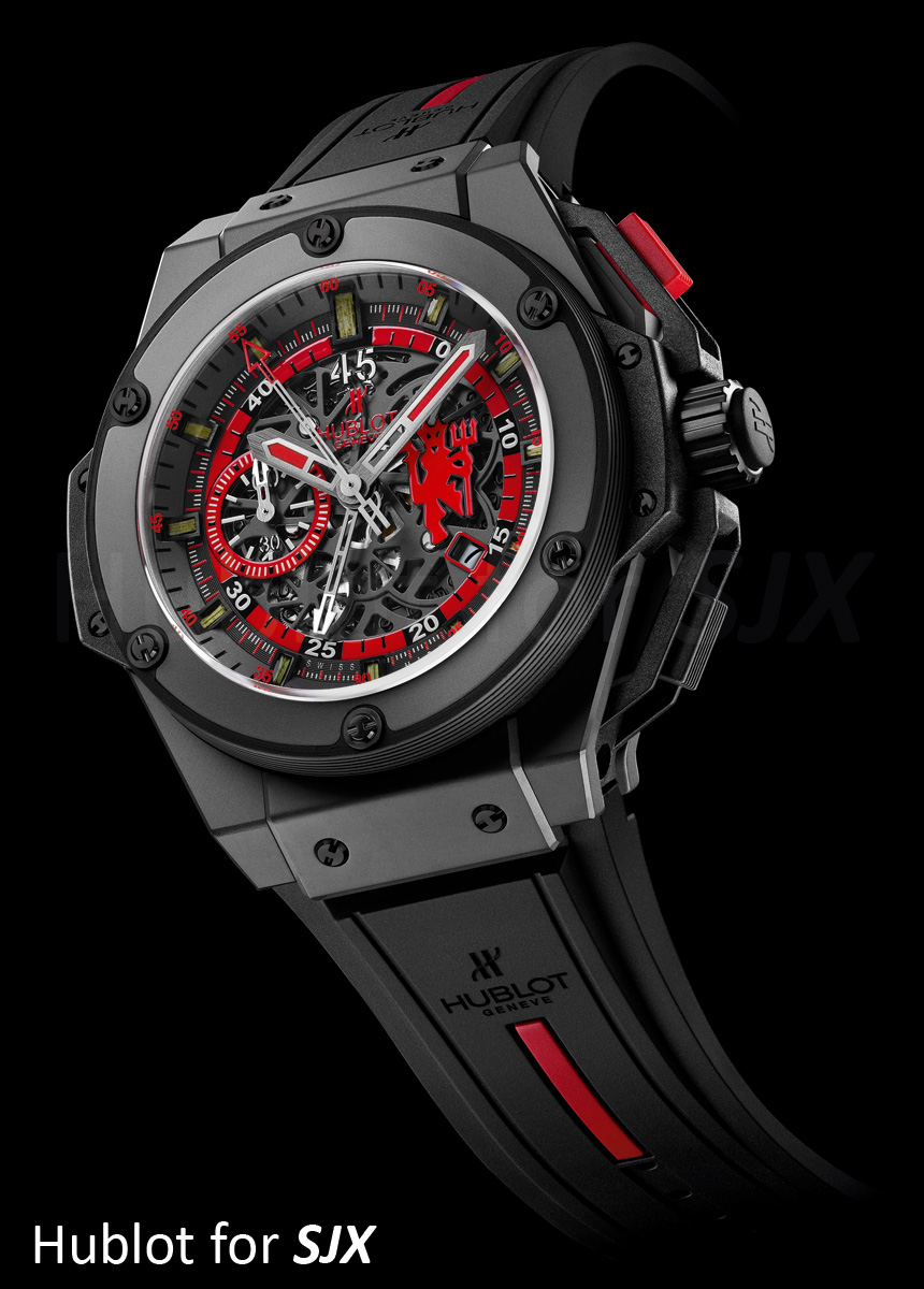 Watches by sjx a method to the madness the hublot king power red devil for Watches hublot