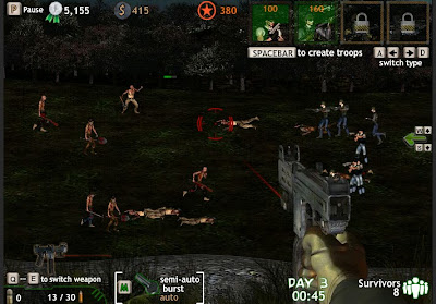 Zombie Korps walkthrough.