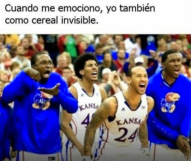 Comamos cereal invisible
