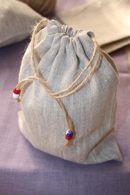 Льняные мешочки, linen bags