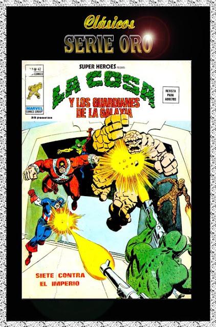 Portada de Superhéroes Volumen 2 Nº 42 Ediciones Vértice