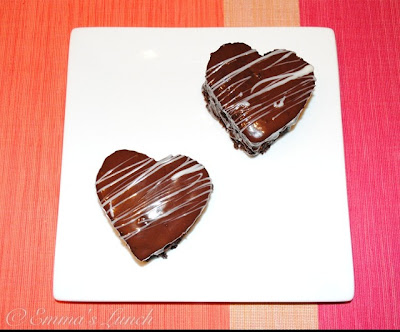 Chocolate Hearts Valentine's Day Desert