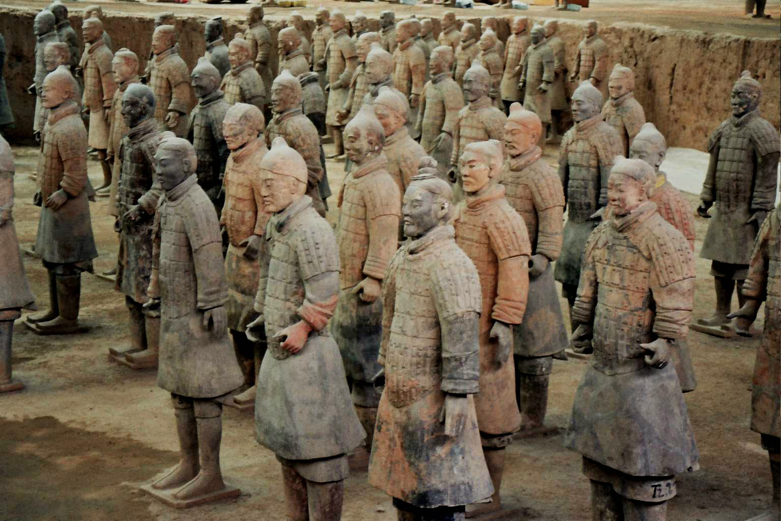 Terracotta Warrior, Close view, Shaanxi Province, China