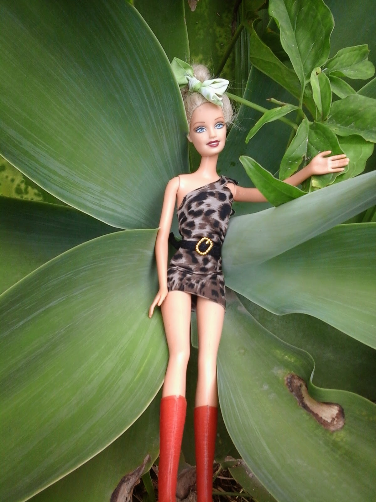 Roupa de oncinha barbie