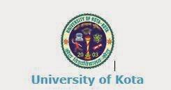 Kota University 2014 Results