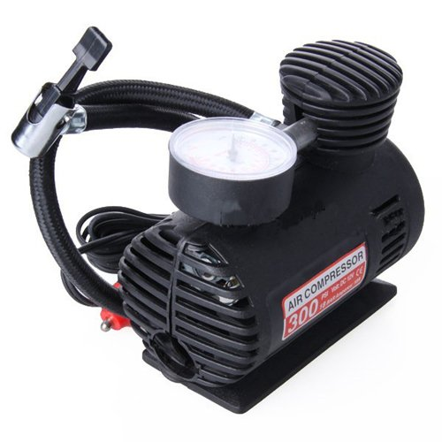 Portable 12v Electric Air Compressor Tire Inflator 300 Psi
