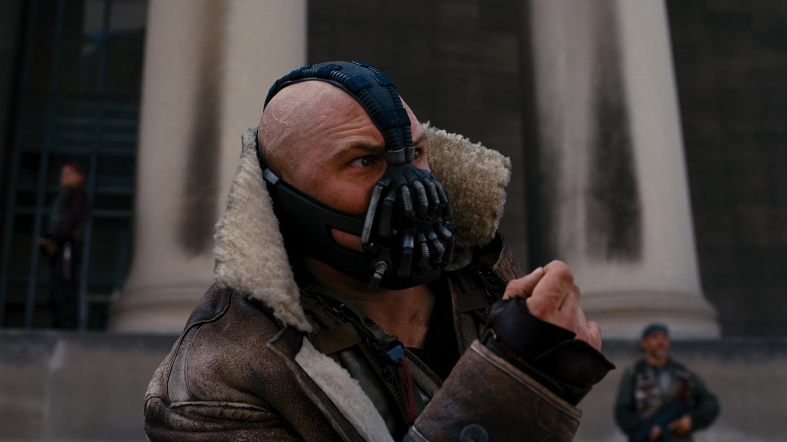 Bane crashes wedding