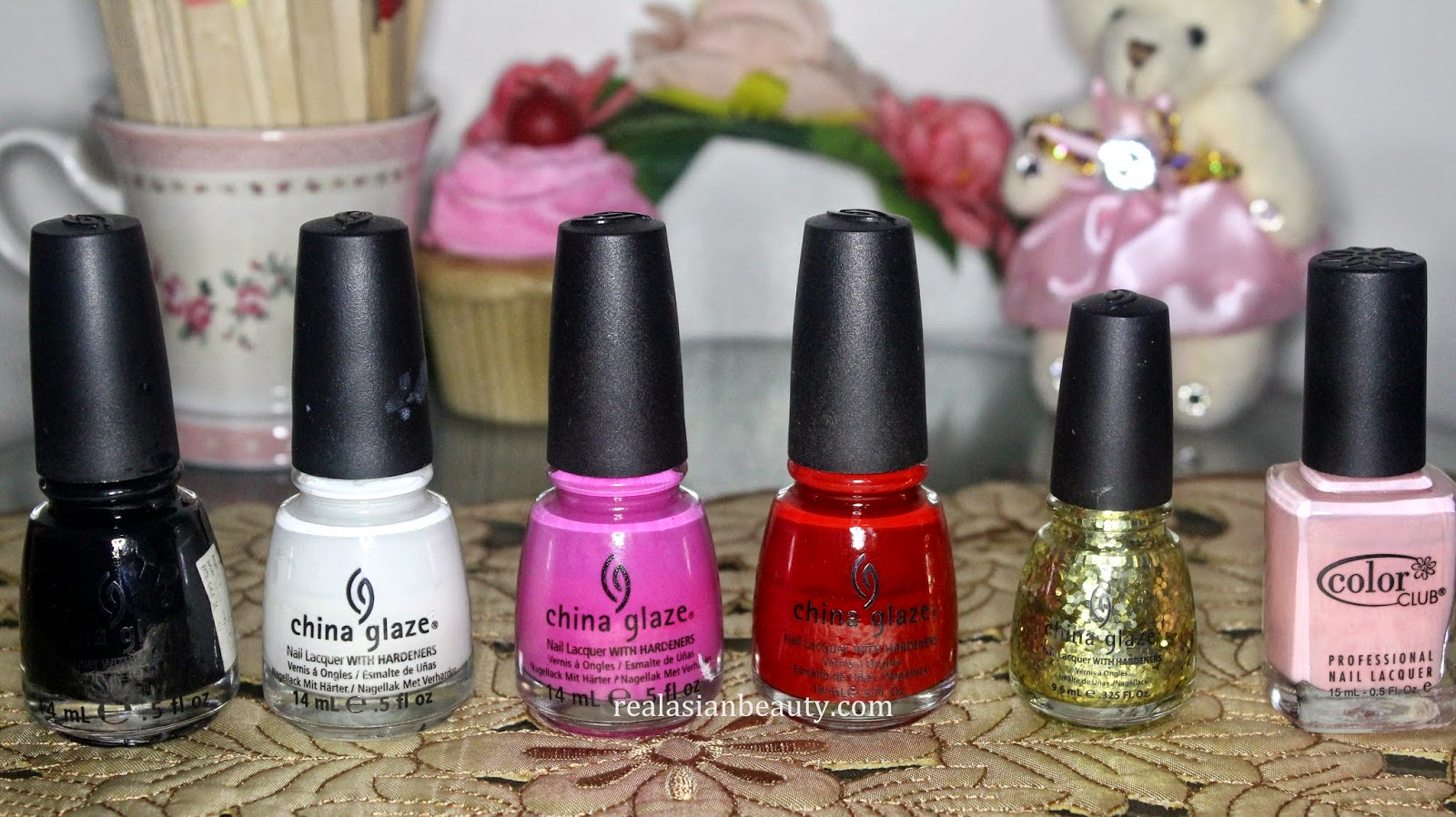 Real Asian Beauty: Updated Nail Polish Collection - 2014