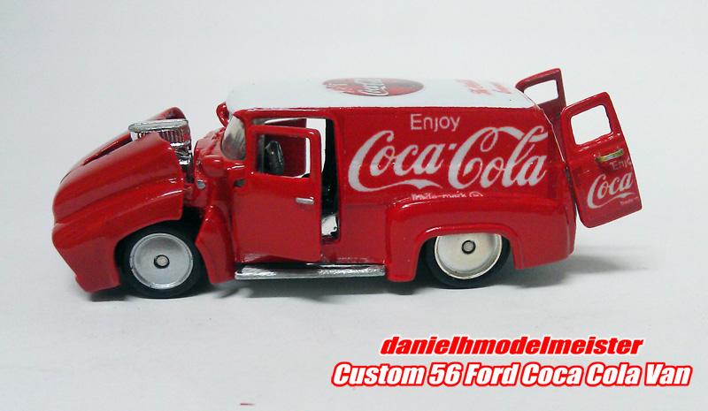 Hot Wheels Car Collectors Hotwheels Custom 56 Ford Coca Cola Van