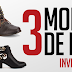 3 Modelos de Botas | Inverno 2014