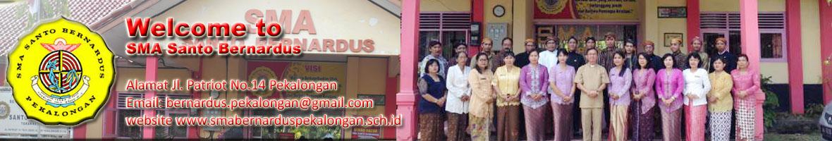 Website Resmi SMA Santo Bernardus Kota Pekalongan