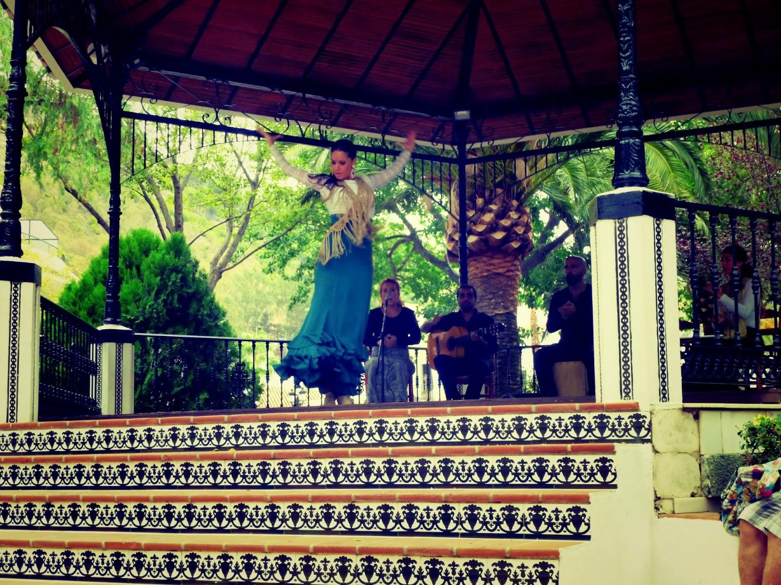 flamenco dancer mijas