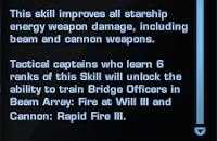 Star Trek Online - Skill Details