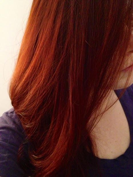 beautiful auburn red hair