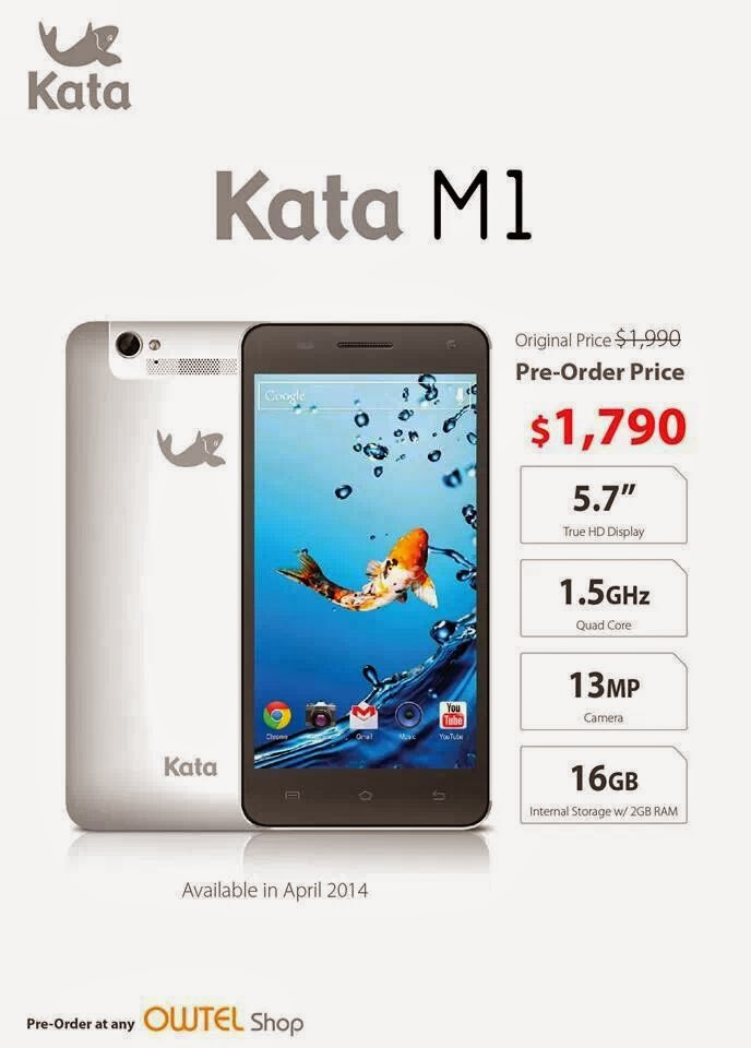 Kata M1 Smartphone Specs Price Philippines