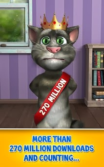 Talking Tom Cat android game apk - Screenshoot