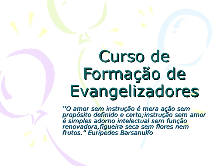 curso para evangelizadores