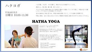 【新クラス】日曜日、ハタヨガ/YUKAKO先生