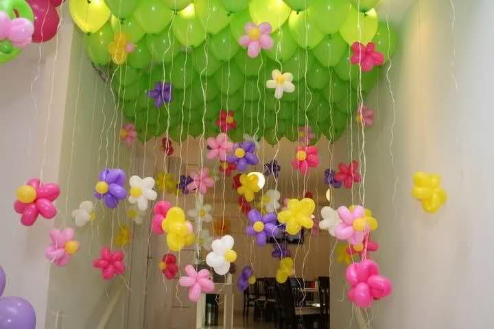Ateli u00ea Art em Flor Decoraç u00e3o com balões -> Decoração De Festa Com Balões No Teto