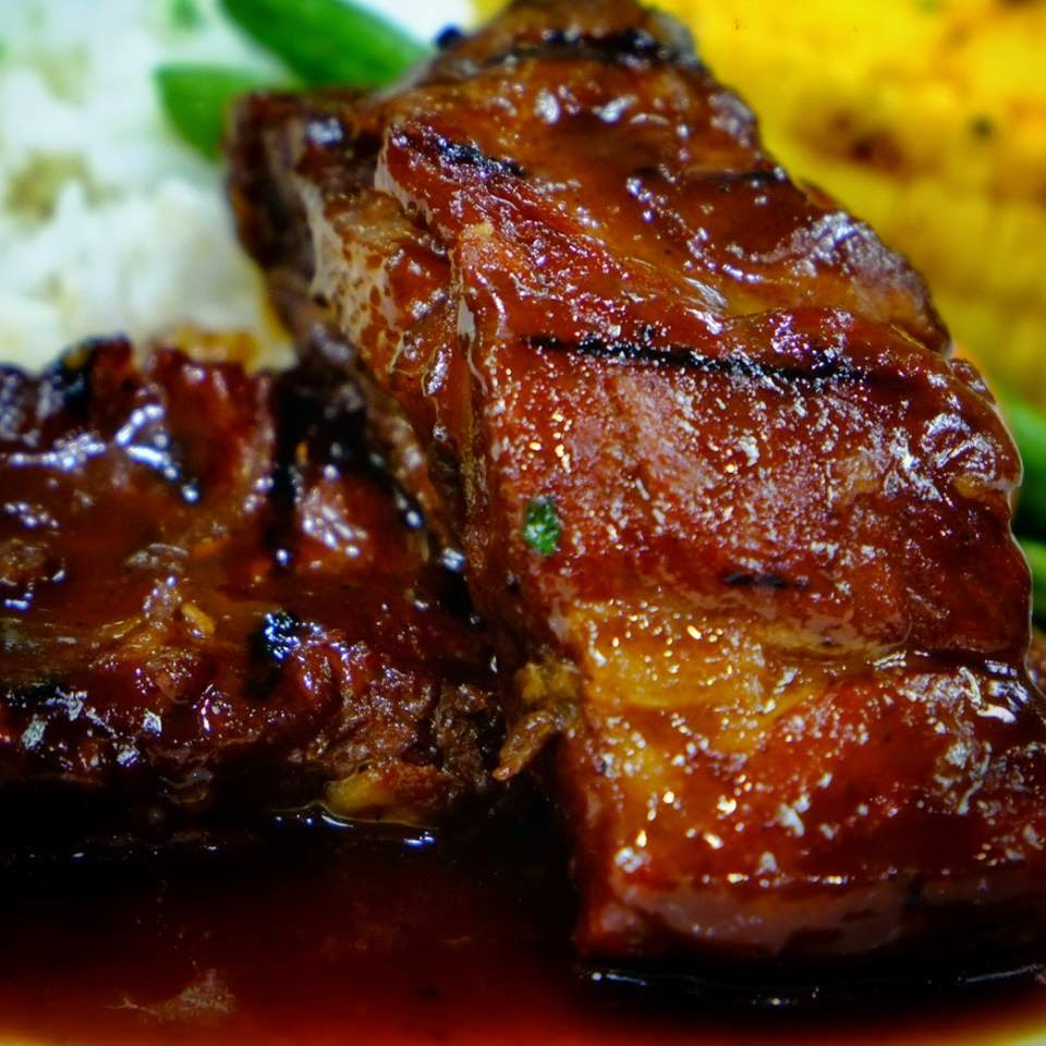 Beeffalo's yummy ribs
