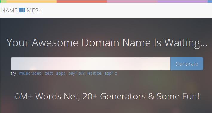 5 أدوات تساعدك على اختيار اسم نطاق مثالي