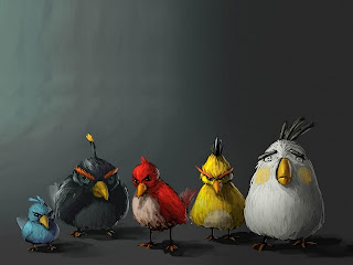 Download Angry Bird Cell Phone Wallpaper