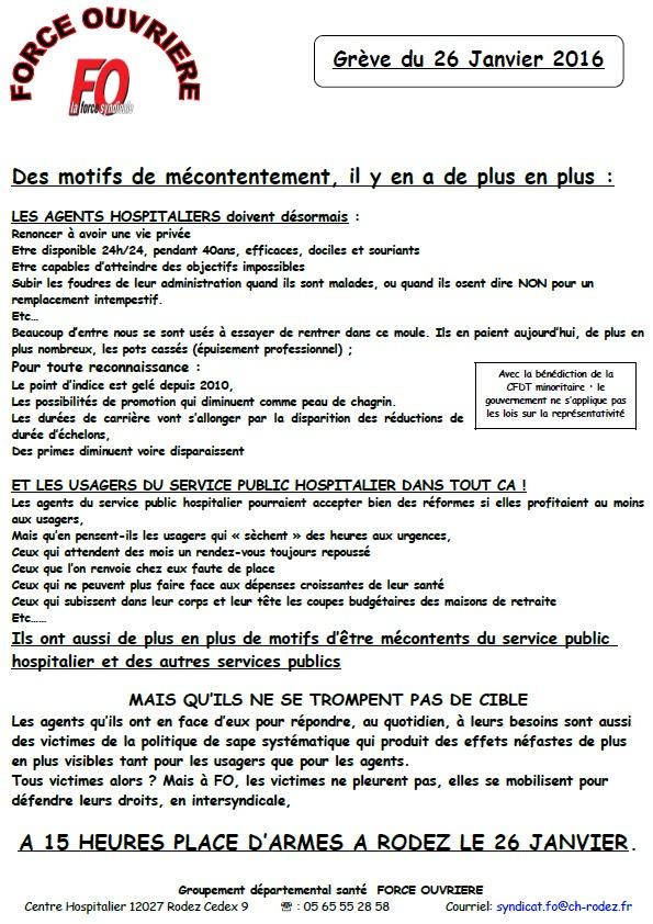 Syndicat fo du ch de villefranche de rouergue - Grille indiciaire fph 2015 ...