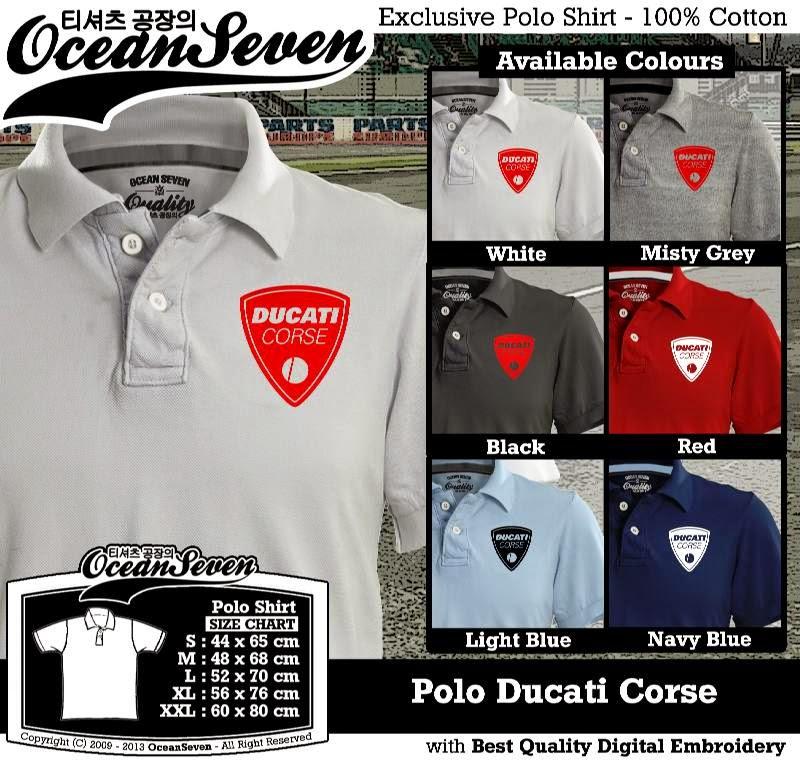 Kaos Polo Ducati Corse