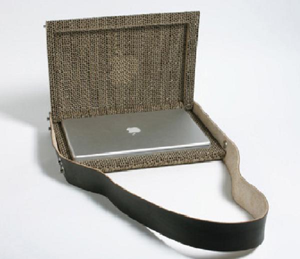 ciptaan indah Giles Miller. Perancang membuat Tas laptop ini dari ...