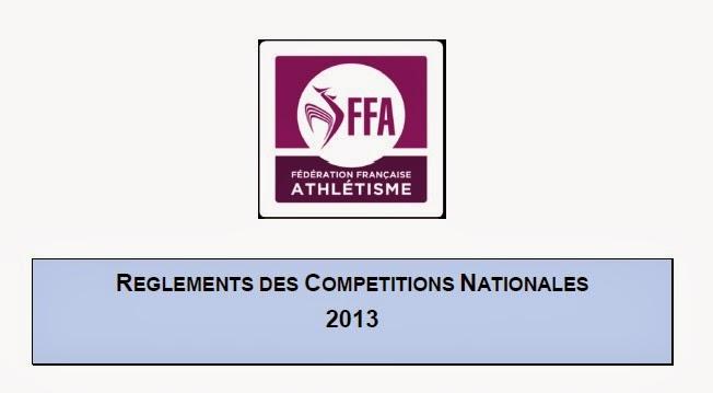 Règlements FFA 2013