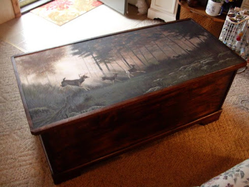 Hand-painted Chest  $250.00
