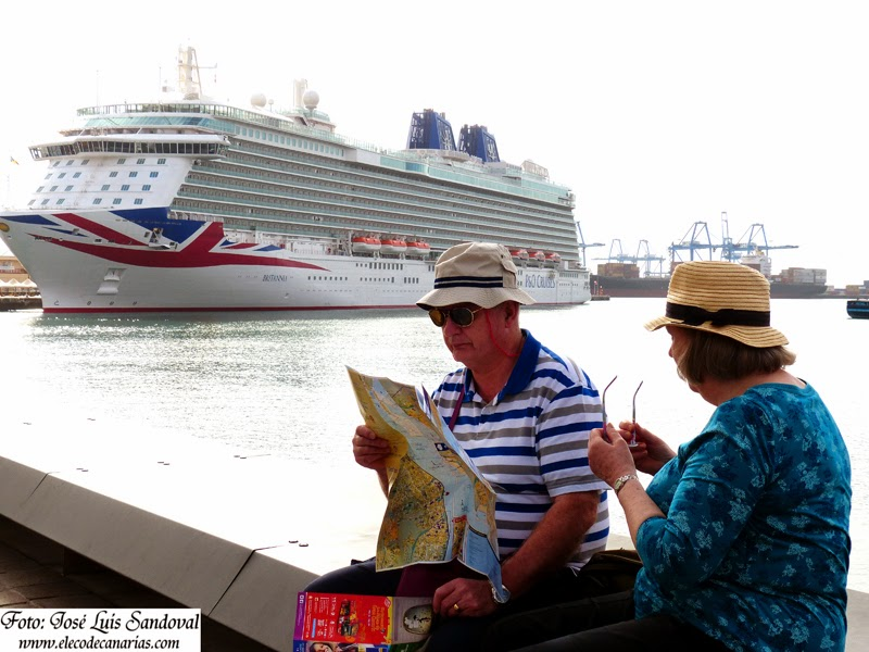 Fotos crucero Britannia, Las Palmas de Gran Canaria