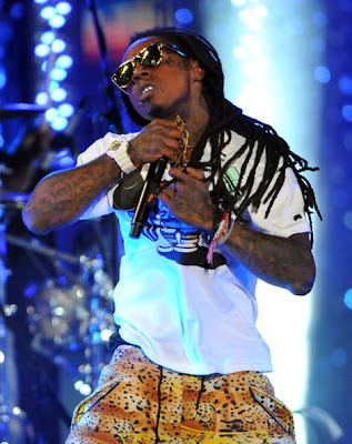 fotos de lil wayne en un concierto en hollywood
