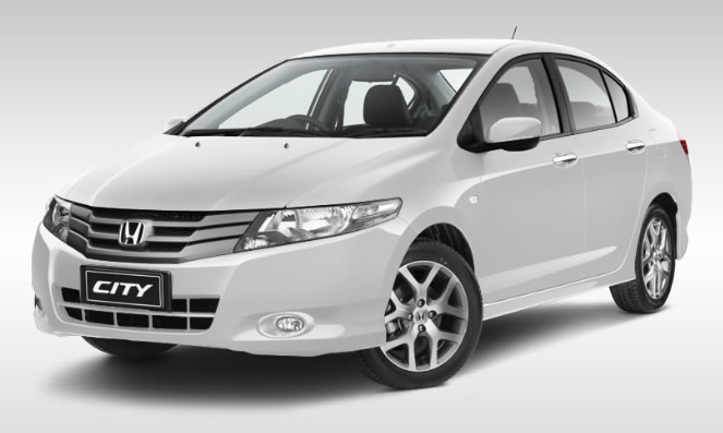 The World Sports Cars Honda City White