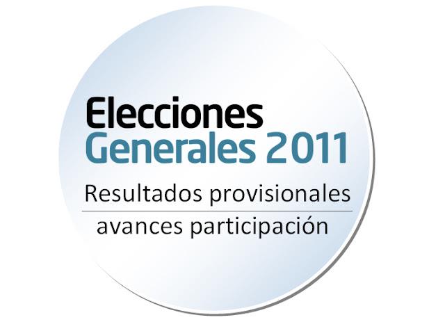 Resultados elecciones 2011 espa a 20 noviembre 20n for Resultados electorales mir