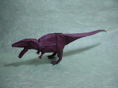 Origami dinossauro