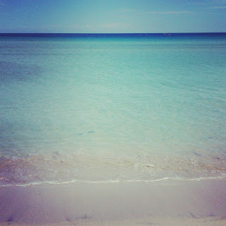 El mar de la playa de Muro. A pocos minutos de Son Siurana. © No sólo comen y duermen