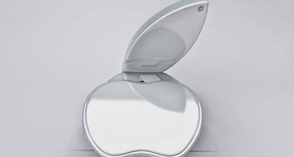 Desain toilet apple