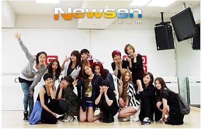 t-ara with gang kiz