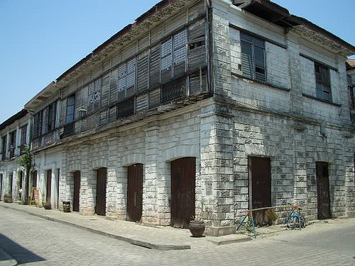 Old Spanish house in Vigan, Philippines