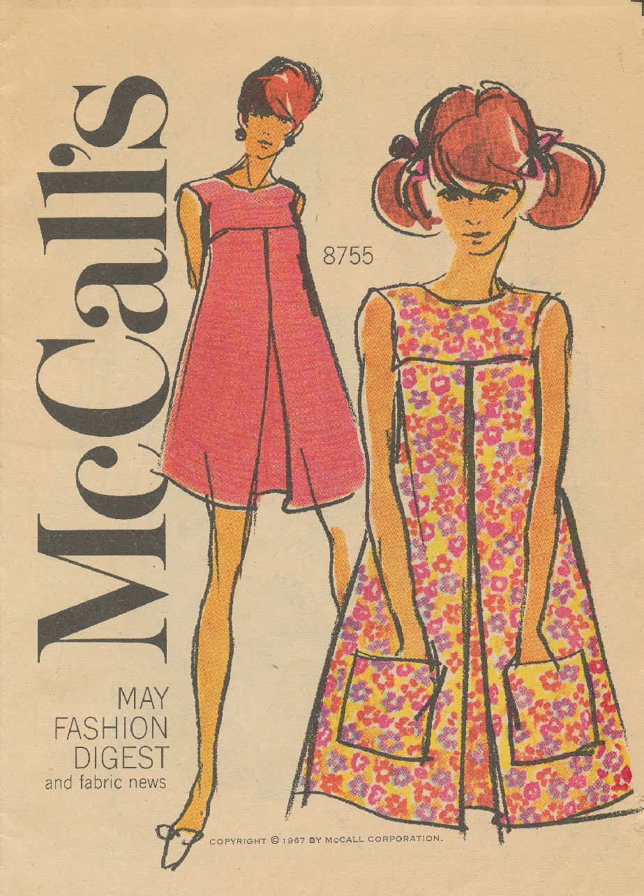 11d65d3df1 Pattern Patter   Looks From McCall s Fashion Digest - May 1967