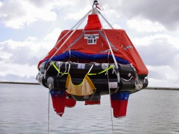 A new liferaft davit