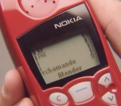 Campanha da Nokia para apresentar o modelo 5100 com Rubens Barrichello como protagonista da campanha.