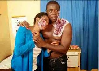 Nollywood Bob Manuel, Chika Ike In Ghastly Auto Crash (Photo)